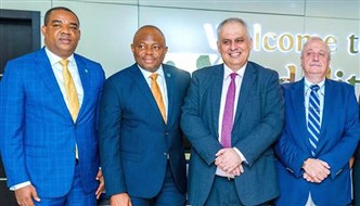 Bank of Beirut - UK Pays Courtesy Visit to Fidelity Bank