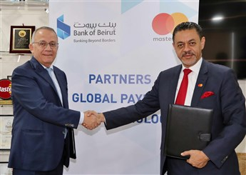 Bank of Beirut Signs New Partnership Agreement with MasterCard